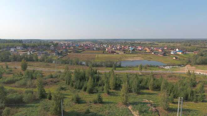 Коттеджный поселок Крутой берег